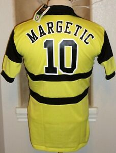 ADMIRAL NASL CHICAGO STING PATO MARGETIC #10 SOCCER JERSEY FOOTBALL SHIRT MLS