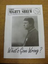 Jan-1998 Fanzine: Shrewsbury Town - The Mighty Shrew - Issue 10. Thanks for view