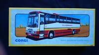 TELLUS MIDLAND RED PLAXTON COACH CORGI 91915 1/50 SCALE 1992 NEW BOX CERT LTD ED