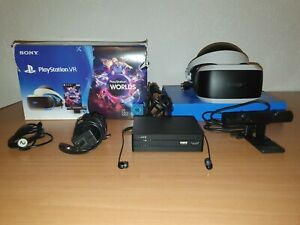 SONY PLAYSTATION VR BRILLE HEADSET PS4 Virtual Reality PSVR Version 2 Gebraucht