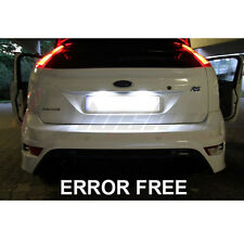 c5w FORD FOCUS XENON COOL WHITE LED NUMBER PLATE LIGHT BULBS ERROR FREE