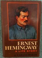 ERNEST HEMINGWAY, A LIFE STORY ~ BY CARLOS BAKER ~ 1st EDITION ~ HC/DJ ~ 1969.