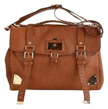"RDC5264 Authentic Mulberry Oak Leather ""Oversized Travel Alexa"" Messenger Bag"