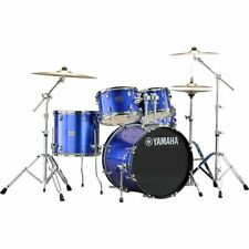 NEW Yamaha Rydeen 5-Piece Shell Pack with 20 in Bass Drum Fine Blue Free Shippin