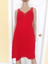 EVAN PICONE red beaded dress size 12 valentines day dress