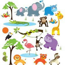 Wall Art Stickers Kids Animal Boy Kids Baby Decal For Bedroom Room Nursery Decor