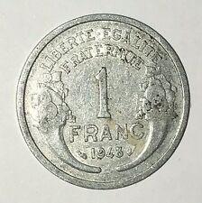 Pièce Ancienne - 1 Francs Morlon 1948 - Ancient French 1 francs coin