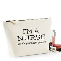 Nurse Thank You Gift Women's Make Up Accessory Bag Mothers Day