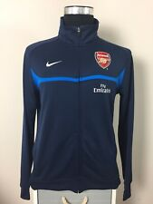 Arsenal Nike Blue Football Training Track Top Jacket 2009/10 (L)