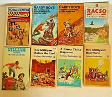8 Old Vintage Children's PB books display decoration reading lot 3-24520