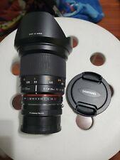 Rokinon Samyang 20mm f1.8 Lens for SONY A7 FE A7R III E Canon EF Fujifilm M4/3