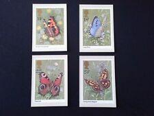 PHQ 51 1981 Butterflies Mint 4 Cards