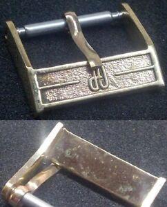 Original Girard Perregaux Buckle Fibbia 16mm inner '70 Rose GoldPlated L@@K !