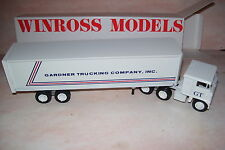 Gardner Trucking Company Inc. Winross Diecast Delivery Trailer Truck