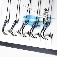 100 Pcs Sharpened Anti-bite Line Fishing Hooks Carp Fishing Tackle Jig 7 Sizes