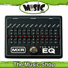 New MXR 10 Band Graphic EQ Equalizer Pedal - M108