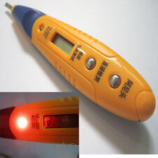 AC/DC 12V-220V Digital LCD induction test pen Voltage Tester Breakpoint Detector