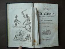 Storia Naturale Animali Libri'800 figurati Incisioni animali Bella Legatura 1860