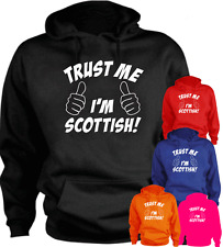 Trust Me I'm Scottish Scotland New Hoodie Gift Present