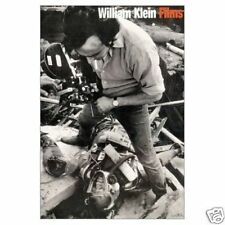 SIGNED - WILLIAM KLEIN - FILMS - SIGNED