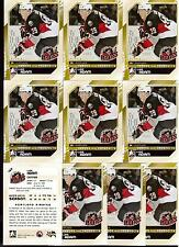 LUKE ADAM 10/11 ITG H&P RC Rookie Lot of (10) #143 Buffalo Sabres Draft Cards