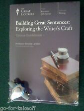 Building Great Sentences CD - NEW - Teaching Company / Great Courses