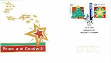 Australia 2003 Greetings Stamps Peace & Goodwill First Day Cover Domestic & Int