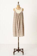 Silk Tunic Dress Beach Summer Sundress By Sunner Anthropologie Printed, Size S
