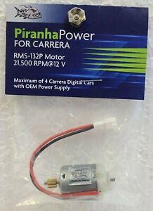PIRANHA RMS-132P 21,500 RPM MOTOR DIRECT FIT FOR CARRERA 1/32 SLOT CAR MOTOR