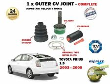 FOR TOYOTA PRIUS HYBRID 1.5i 2003-2009 NEW 1 OUTER CV CONSTANT VELOCITY JOINT