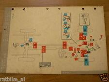 TRIUMPH VITESSE 6. MOBIL OIL LUBRICATION CHART 1964