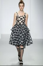 Simone Rocha Embroidered PVC and Tulle dress, UK12 RRP £1.6k RARE