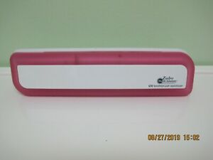 Zadro health solutions, UV toothbrush sanitizer Have 2  (white on white) & pink