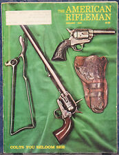 Vintage Magazine American Rifleman, JANUARY 1976 !! REMINGTON Model 700 RIFLE !!
