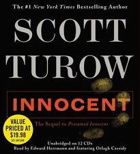 EUC Innocent by Scott Turow (2012, CD, Unabridged) LISTENED TO ONCE