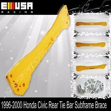 Rear Subframe Brace Tie Bar FOR EMUSA 1996-2000 Honda Civic EK LX DX EX SI GOLD