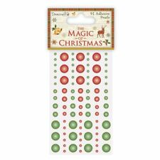 Dovecraft The Magic of Christmas Craft Collection - Adhesive Pearls (91pcs)