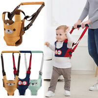 Baby Toddler Walking Belt Harness Aid Assistant Walk Safety Rein Trainning Tool-