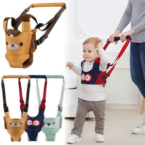 Toddler Baby Walking Harnesses Backpack Leashes For Kids Assistant Learning