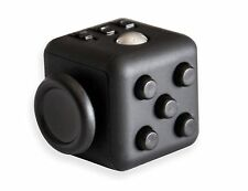 Black Fidget Cube Anxiety Stress Relief Focus Adhd Puzzle Fast Usa Shipping