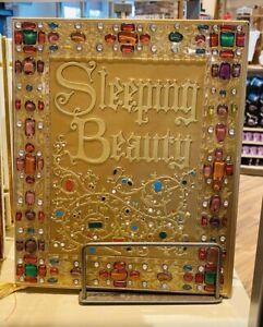 Disney Parks Sleeping Beauty 9 x 11 inch Storybook Style Journal Blank Book NEW