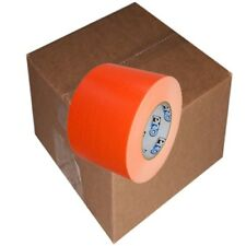 "Pro Duct 139 Fluorescent Orange Duct Tape 4"" x 60 yard Roll (12 Roll/Case)"
