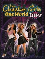 CHEETAH GIRLS 2008 ONE WORLD TOUR CONCERT PROGRAM BOOK BOOKLET / NMT 2 MINT