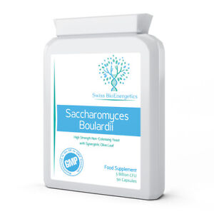 Saccharomyces Boulardii  - 5 Billion CFU 90 Capsules - No refrigeration required