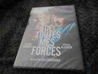"DVD NEUF ""DE TOUTES MES FORCES"" Yolande MOREAU, Khaled ALOUACH"
