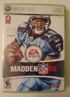 MADDEN NFL 08 XBOX 360 - TESTED