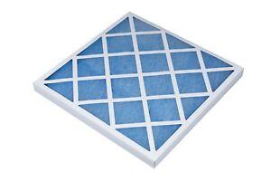 G3 Oiled Glass Panel Filter Fiberglass Various Sizes 45mm Depth Card Case