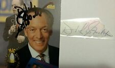 Dick Stockton legendary sportscaster signed autographed auto cut & card - Jsa