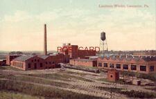 LINOLEUM WORKS, LANCASTER, PA.