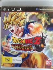 DRAGONBALL Z ULTIMATE TENKAICHI  - PS3 SONY PLAYSTATION 3 - GAME & BOOKLET - VGC